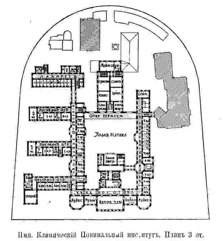 План 3 этажа. «Зодчий», 1906,