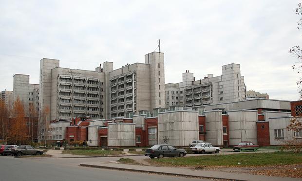 Дома при инфекционной клинической больнице