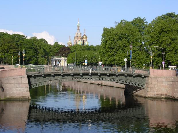 1-й Инженерный мост, Архитектор Клапейрон Э. К., Базен П. П ...