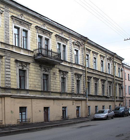 Дом Струговщикова - Лечебница Св. Лазаря - Максимилиановская больница.  Фотография 13 из 14.